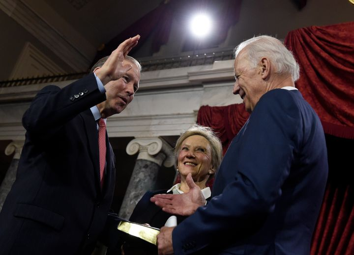 Sen. Tom Udall (D-N.M.) is considered a top contender to serve as President-elect Joe Biden's interior chief. Udall and then-