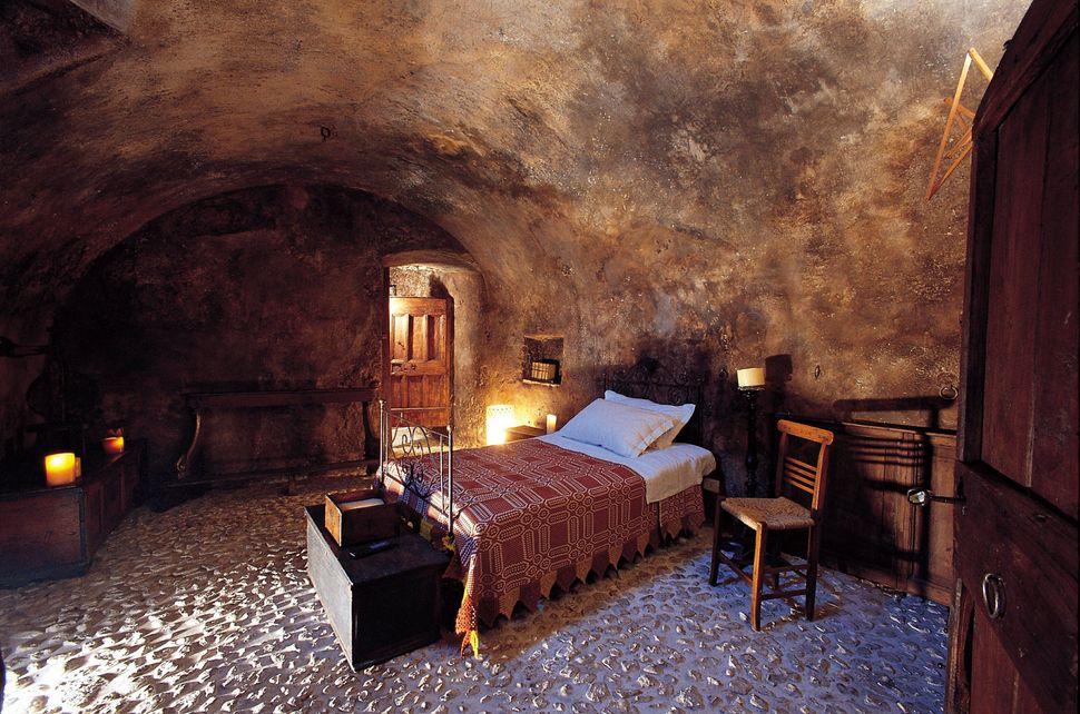Una stanza di Sextantio Santo Stefano