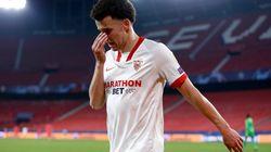 El Sevilla, vapuleado por el Chelsea (0-4), dice adiós al liderato de