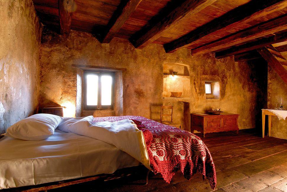 Un alloggio di Sextantio Santo Stefano