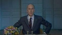 Quand Valéry Giscard d'Estaing expliquait son mythique