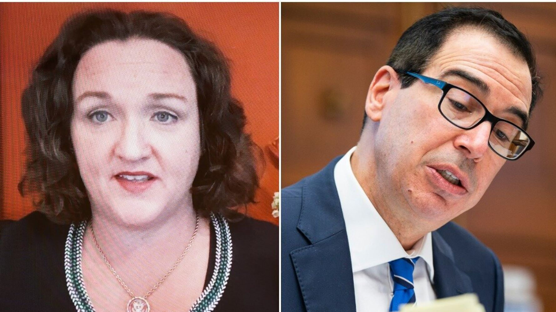 Katie Porter Pummels Mnuchin At Hearing After He Calls Her Question 'Ridiculous'
