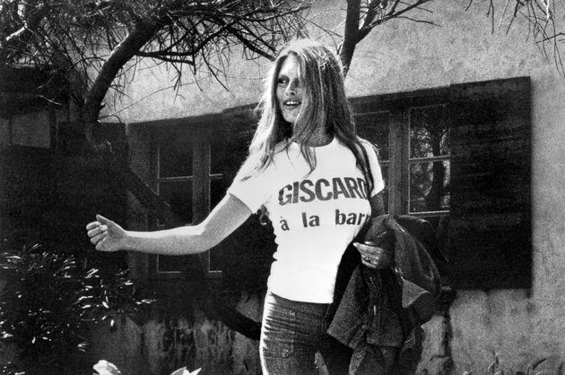 Brigitte Bardot et son t-shirt