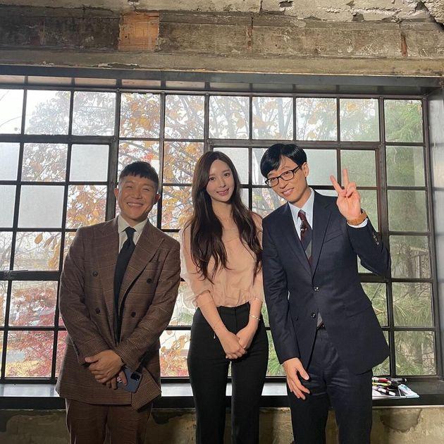 tvN '유퀴즈'에 출연한 야옹이 작가가 남자친구인 전선욱과의 러브스토리를