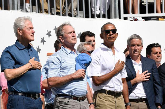 클린턴, 부시, 오바마 전 미국