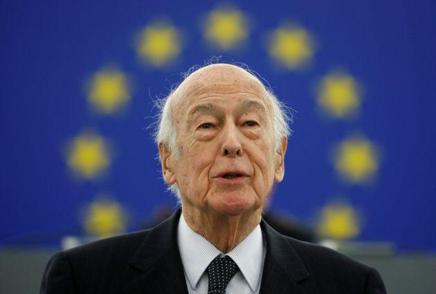 Valery Giscard d'Estaing, en 2009, durante un acto en el Parlamento Europeo, en