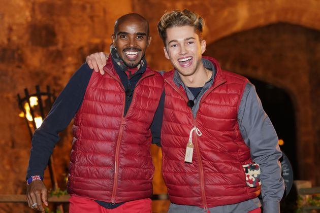 Sir Mo Farah and AJ Pritchard were voted out of the