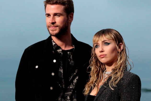 Miley Cyrus and Liam