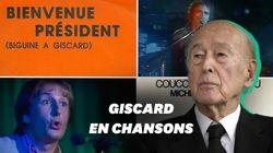 Saviez-vous que Valéry Giscard d'Estaing a inspiré ces chansons