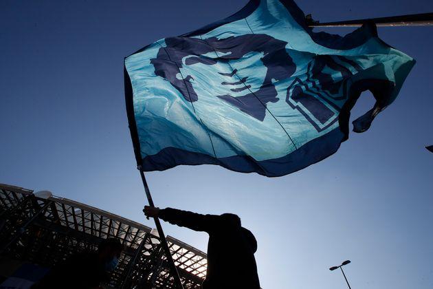 Maradona e il mostro bianco
