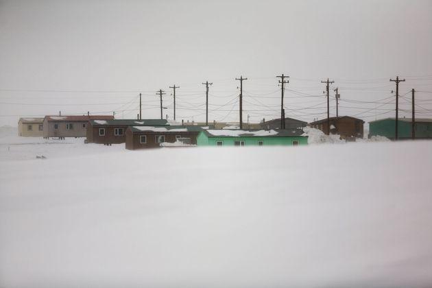 Le village de Kaktovik, situé à 160 km de la bourgade la plus proche, s'est totalement...