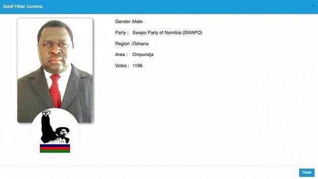 Adolf Hitler Uunona. El Hitler