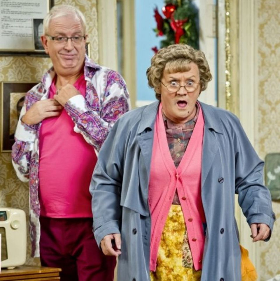 Mrs. Brown and her gay son Rory, played by Rory Cowan until