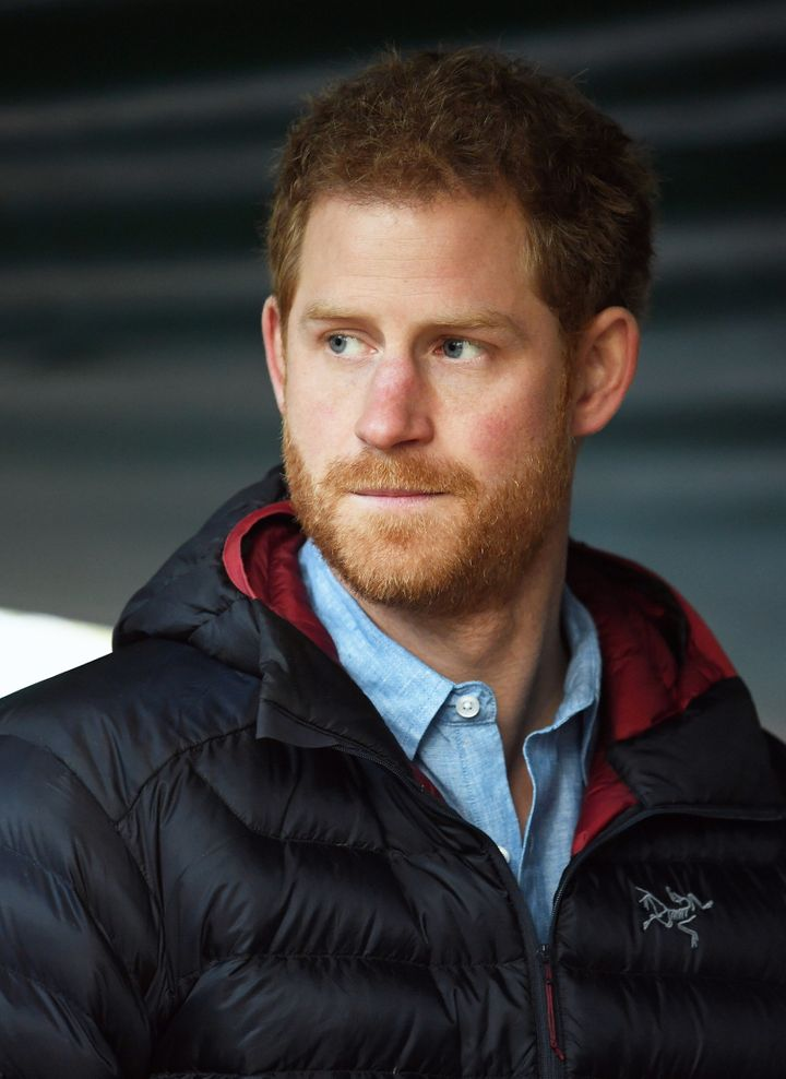 Prince Harry visits the Help for Heroes Recovery Centre at Tedworth House on Janu. 23, 2017 in Tidworth, England.