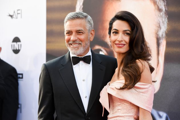 George and Amal Clooney welcomed twins in