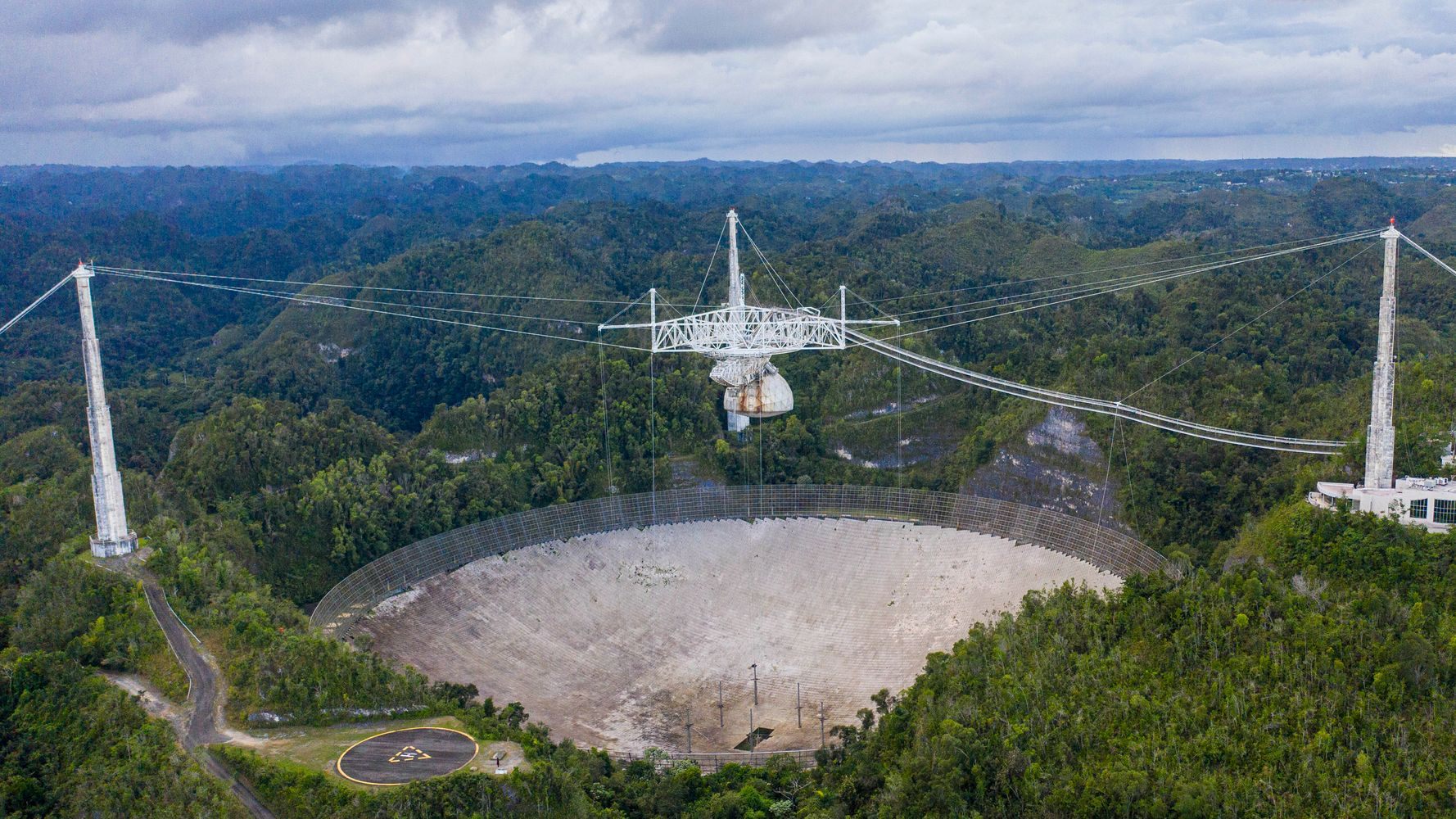 Arecibo Observatory's Dramatic Collapse Captured In Drone Footage