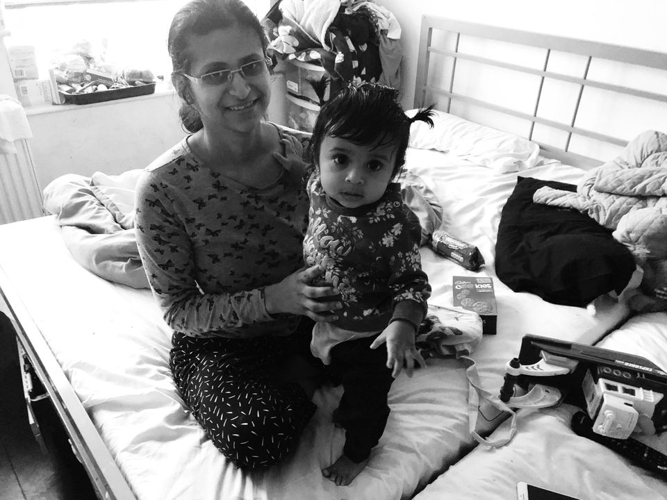 Jankhana with Anaaya in February