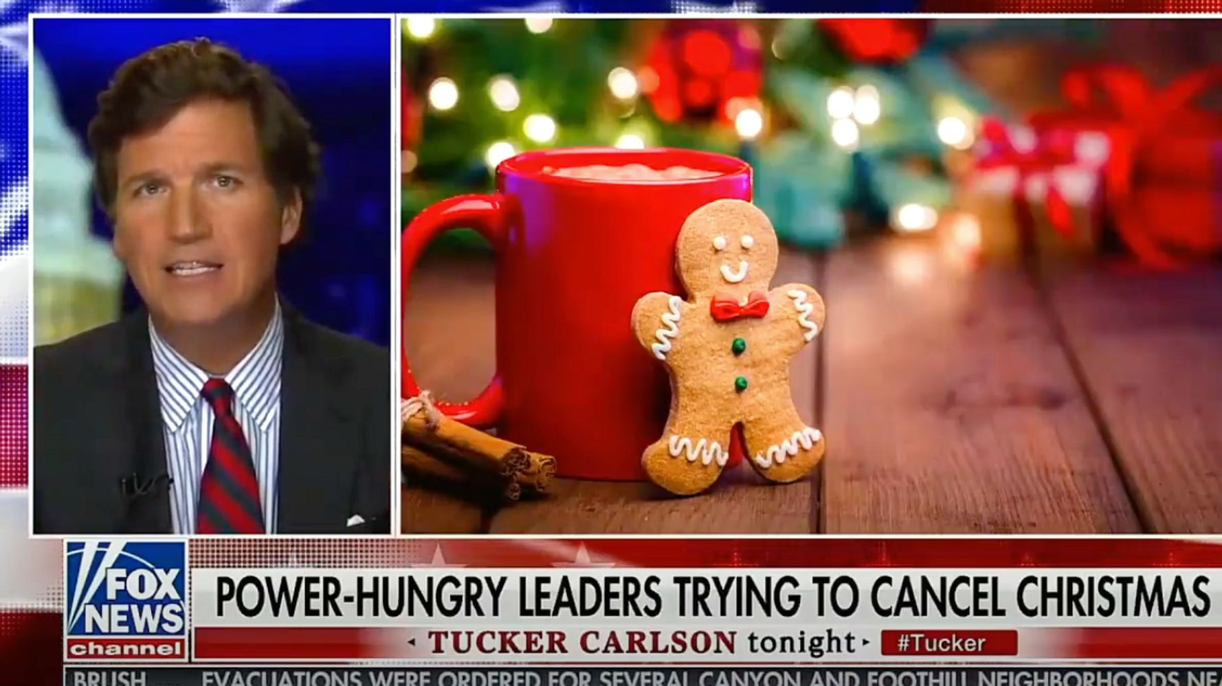It's That Time Of Year: Fox News' 'War On Christmas' Gets A Pandemic Twist