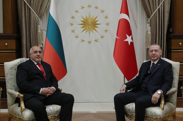 Ο πρόεδρος της Τοουρκίας...