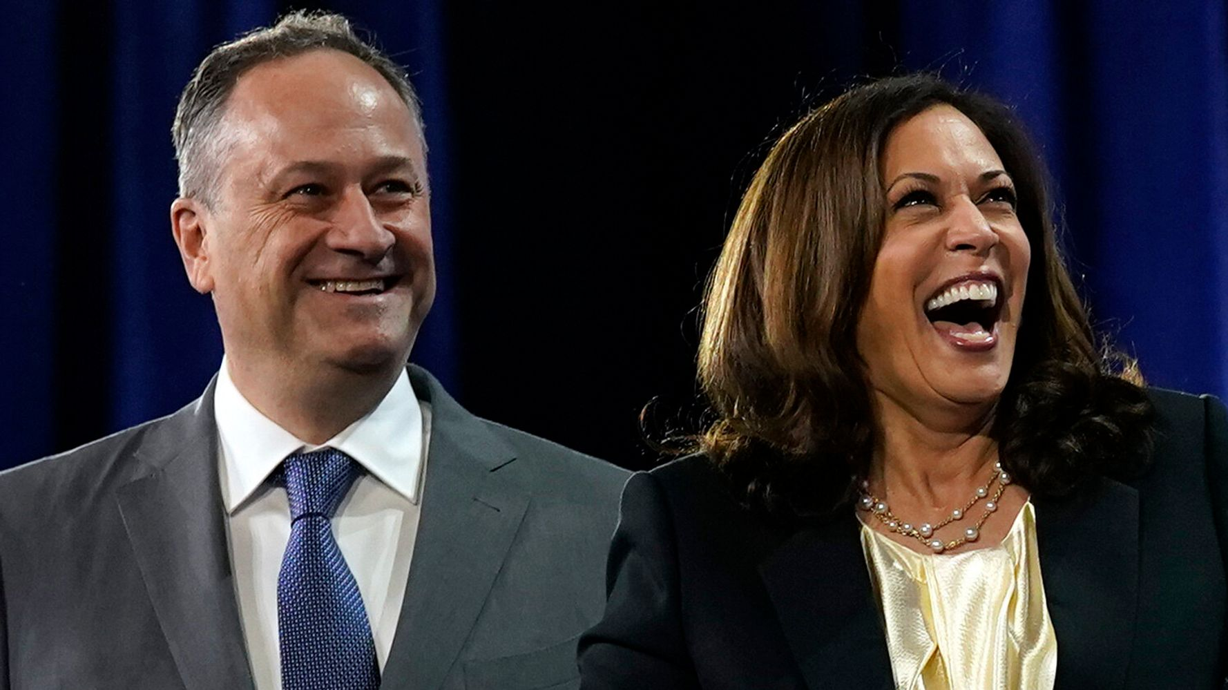 Kamala Harris Reveals Official Moniker For Her Husband, And Her Personal One