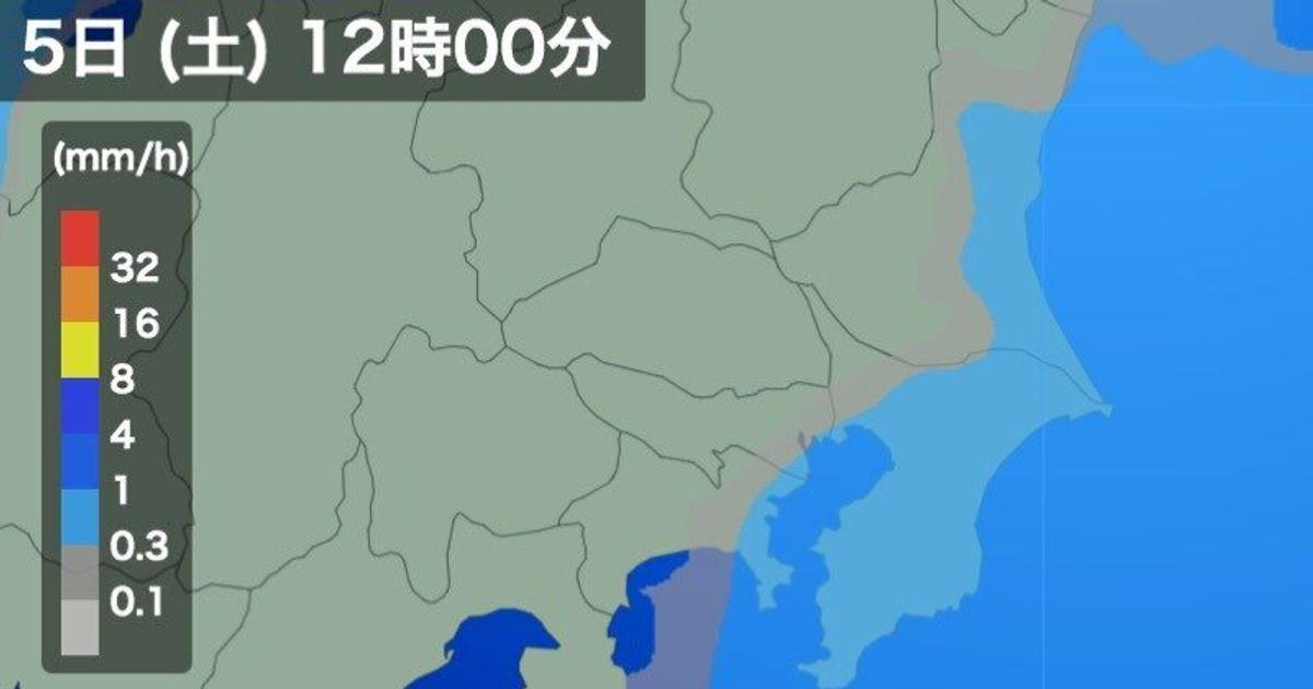 関東、明日12月5日は再び寒空に 雨が降る場所も