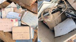 Elle sauve du recyclage plus de 200 lettres d'amour de la Seconde Guerre