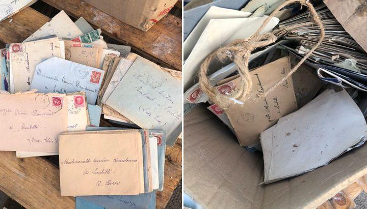 Les 200 lettres d'amour retrouvées dans la déchetterie