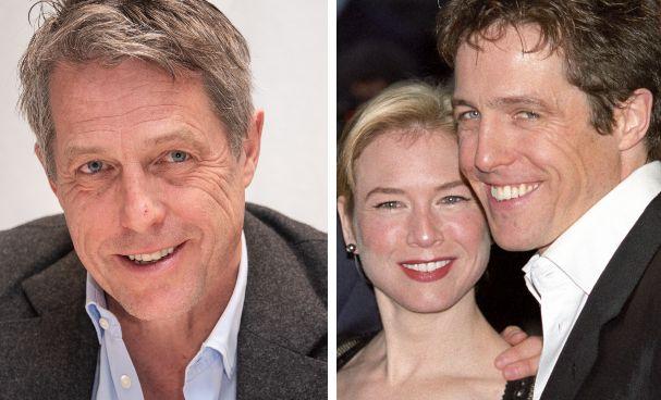 Hugh Grant; Renée Zellweger e Hugh Grant in immagine di