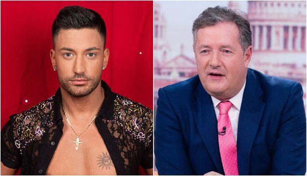 Giovanni Pernice and Piers