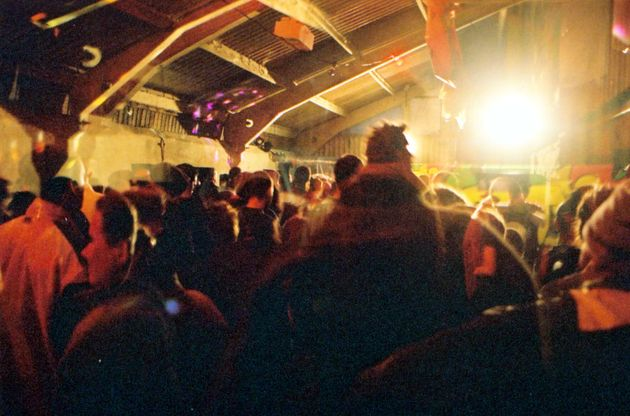 Capturing the indoor/warehouse rave