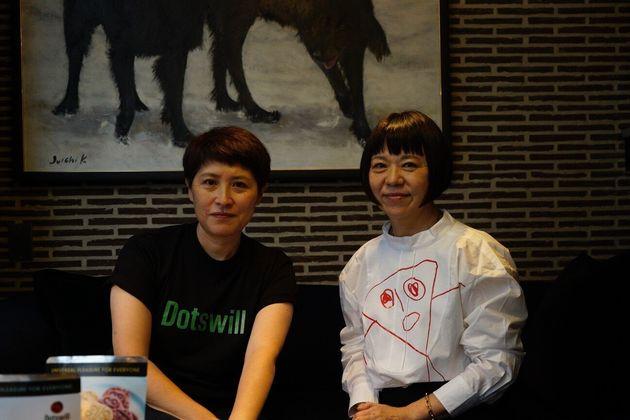 川村さん(左)と松浦さん
