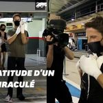 Romain Grosjean a remercié ceux qui lui ont sauvé la
