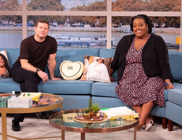 Dermot O'Leary and Alison