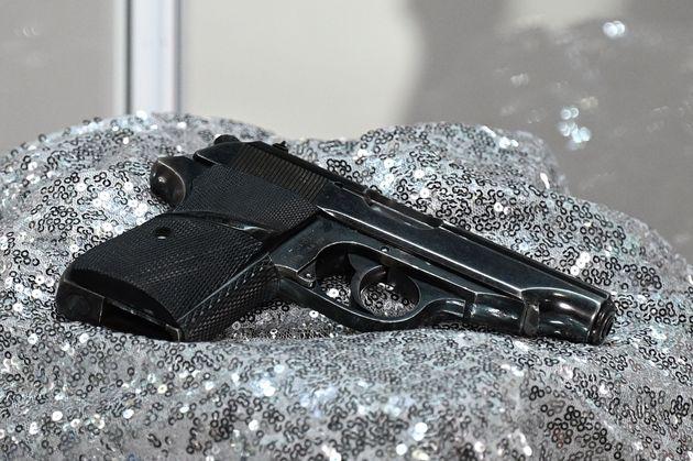 Το πιστόλι Walther PP που χρησιμοποίησε...