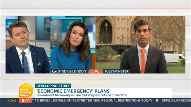 Good Morning Britain Attracts Ofcom Complaints After Ben Shephard And Rishi Sunak Clash