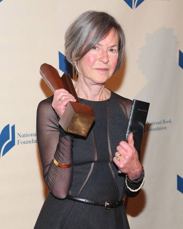 Louise Gluck lors du National Book Awards le 19 novembre 2014 à New York. November 19, 2014 in New York