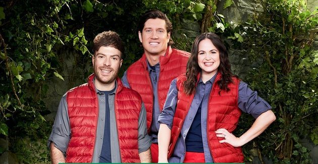 Jordan North, Vernon Kay and Giovanna Fletcher made this year's I'm A Celebrity