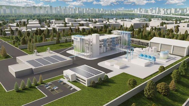 La future usine de Suez et Loop Industries entrera en service en
