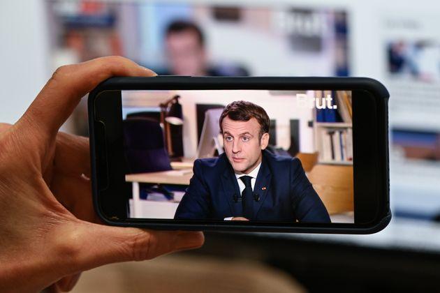 Emmanuel Macron interviewé par Brut le 4 décembre