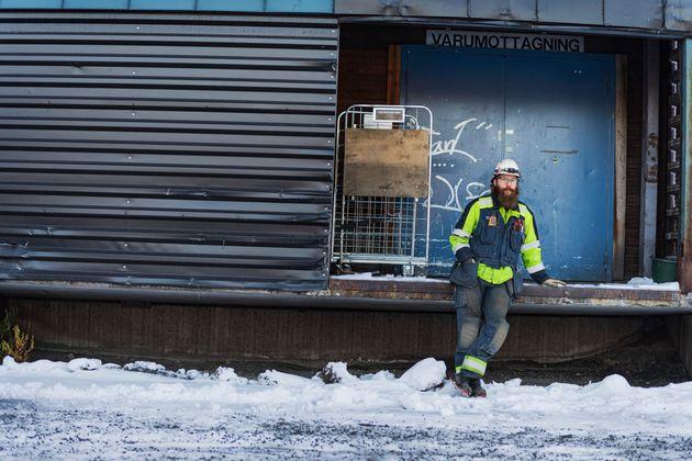 Électricien industriel chez SSAB et habitant de Luleå, Ted Ejdemo est représentant...