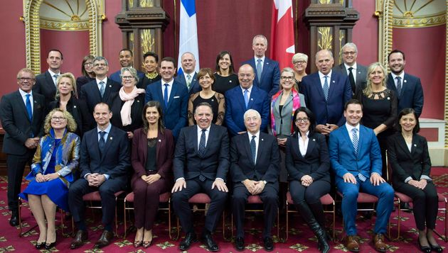Le cabinet du gouvernement Legault présenté en octobre