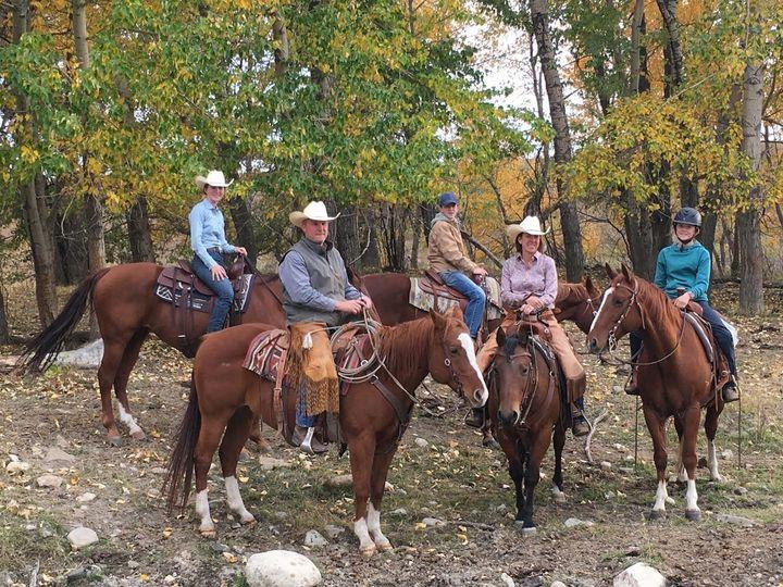 La famille White sur leur ranch.