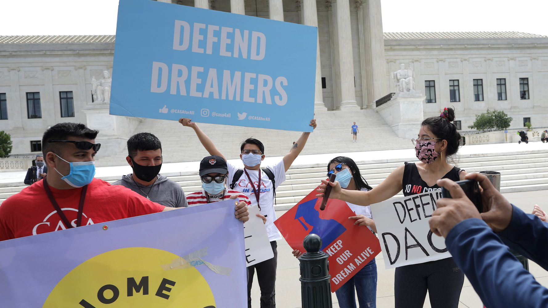 Judge Orders Trump Administration To Restore DACA Immigrant Program