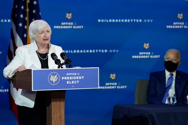 President-elect Joe Biden has tapped former Fed Chair Janet Yellen to be his treasury