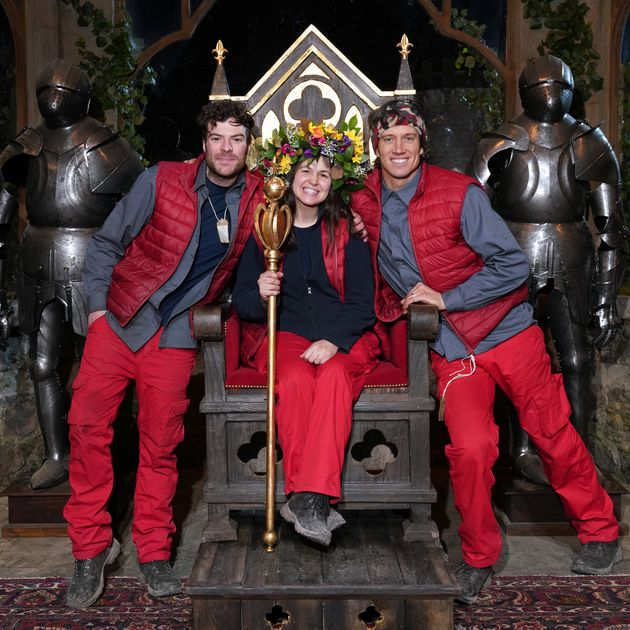 Giovanna Fletcher was crowned Queen of the Castle with Jordan North finishing runner-up and Vernon Kay placed third