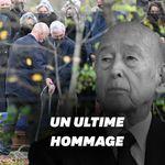 Giscard a été enterré à Authon, les Français pourront se recueillir sur sa tombe dès