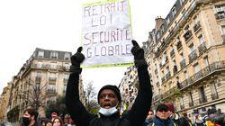 Heurts et violences à la manif contre la loi sécurité globale à