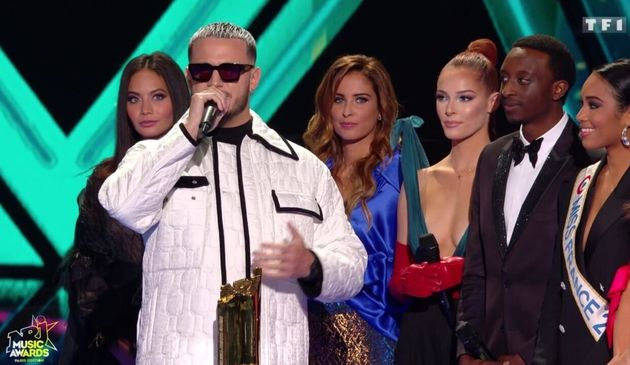DJ Snake, élu DJ de l'année aux NRJ Music Awards, le 5 décembre
