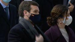 El elocuente gesto de Pablo Casado a los ministros por lo que estaba pasando en el Congreso: su cara lo dice