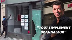 Stéphane Plaza indigné après l'attaque d'une de ses agences en marge de la manif sécurité